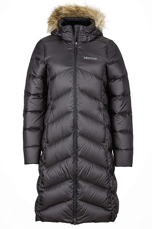 Marmot Womens Montreaux Down Coat - Large - Black